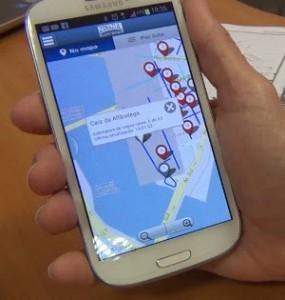 aplicativo tecnologia turismo Recife rua ruas vaga vagas centro histórico Recife Antigo mapa