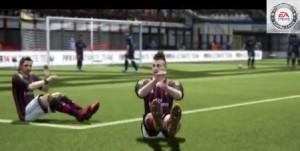 Fifa 14 esporte futebol jogo game tecnologia Gangnam Style Psy música quicada Kidiaba goleiro Mazembe Congo comemoração comemorações videogame