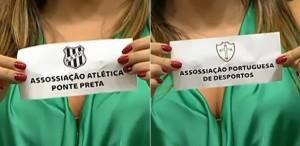 Erro ortográfico em sorteio do Paulistão 2014