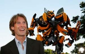 Michael Bay à frente de Transformers