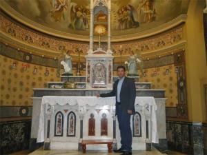 Padre Carlos Eduardo Tibério na Catedral Metropolitana de São Sebastião