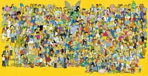 Personagens da série 'Os Simpsons'