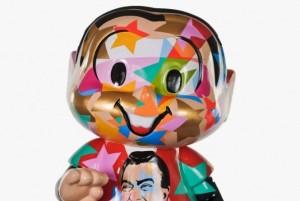 Mônica pintada pelo artista plástico Lobo
