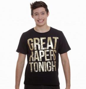 Camiseta da Marisa com erro de grafia