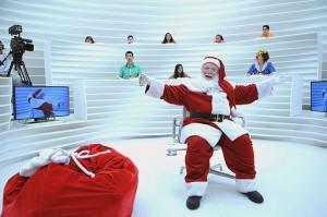 "Papai Noel no programa ""Roda Vida"""