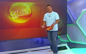 Bruno Laurence no Globo Esporte