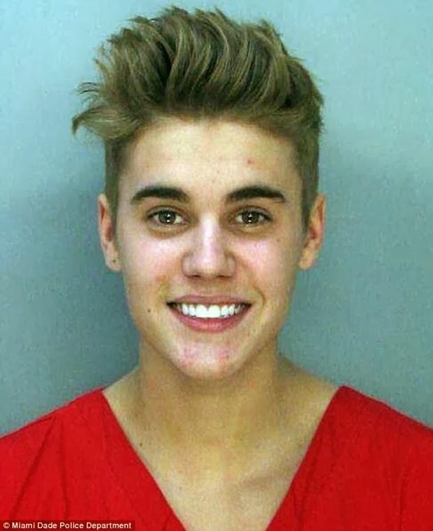 Justin Bieber na prisão