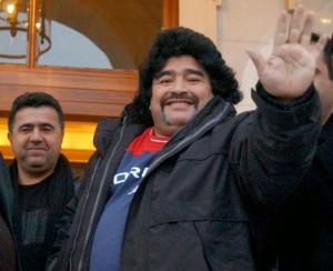 Maradona gordo