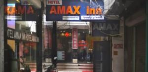 Entrada de hotel em Nova Déli