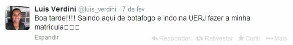 Twitter do Luis Verdini