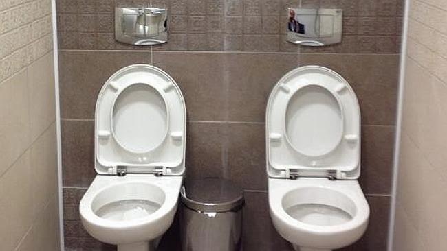 Sanitários gêmeos
