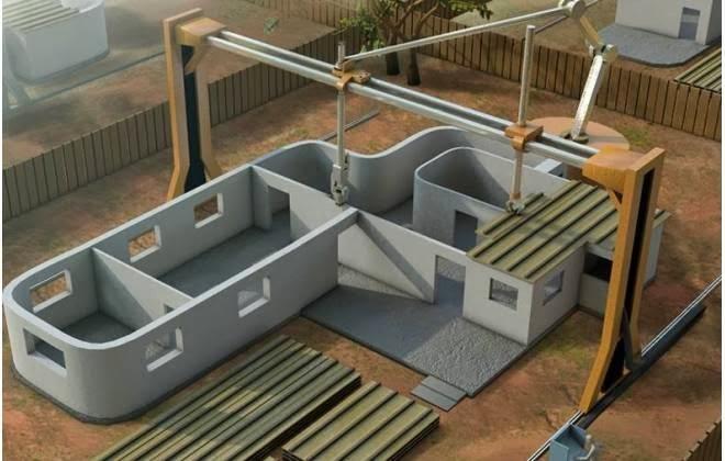 Impressora que constrói casa