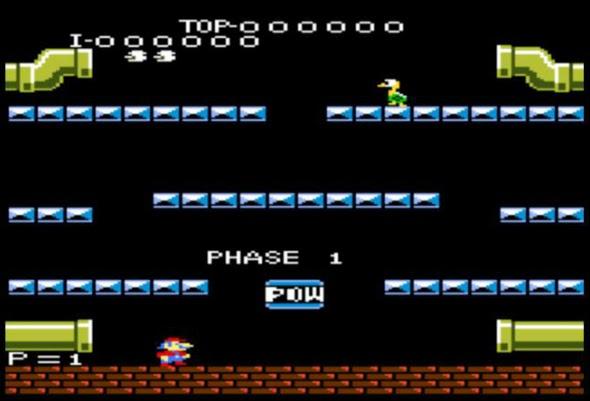 Mario Bros no Atari