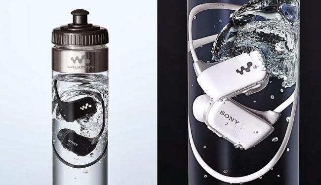 Bottled Walkman da Sony