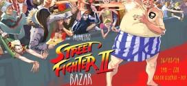 Bazar de artistas na Liberdade tem campeonato de 'Street Fighter II'