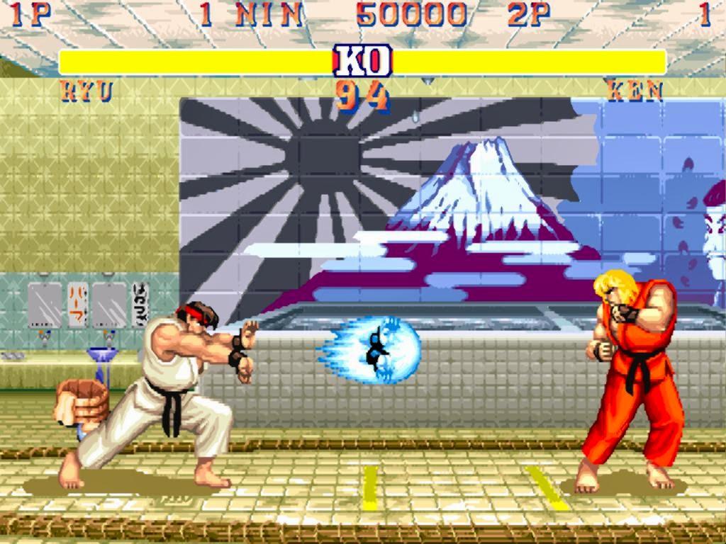 Jogo Street Fighter II
