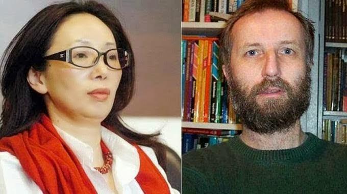 Xiu Li e Tony Hawken
