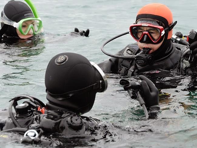 Yasuo Takamatsu na água
