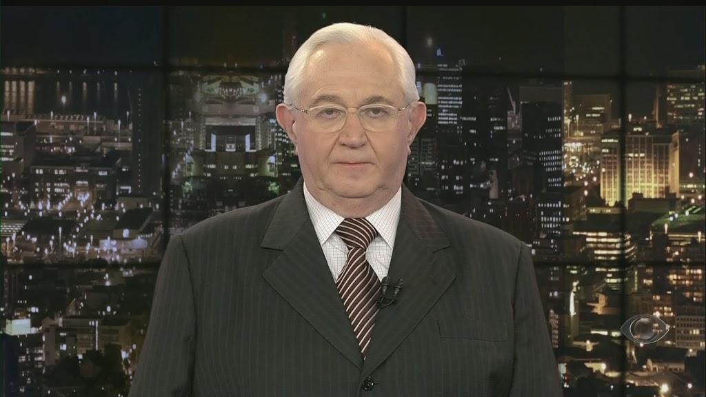 Boris Casoy em telejornal