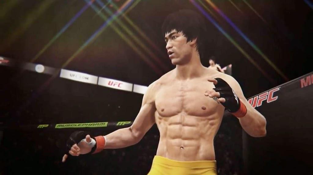 Bruce Lee em jogo do UFC