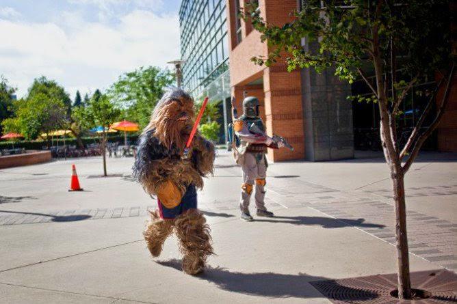 Chewbacca na Star Wars Run