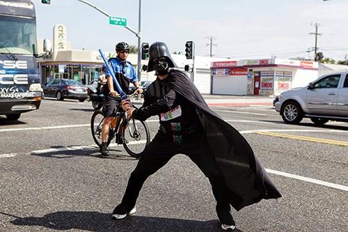Darth Vader na Star Wars Run
