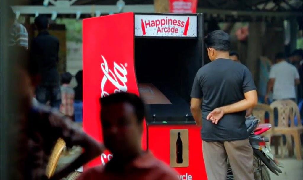 Máquina de fliperama da Coca-Cola