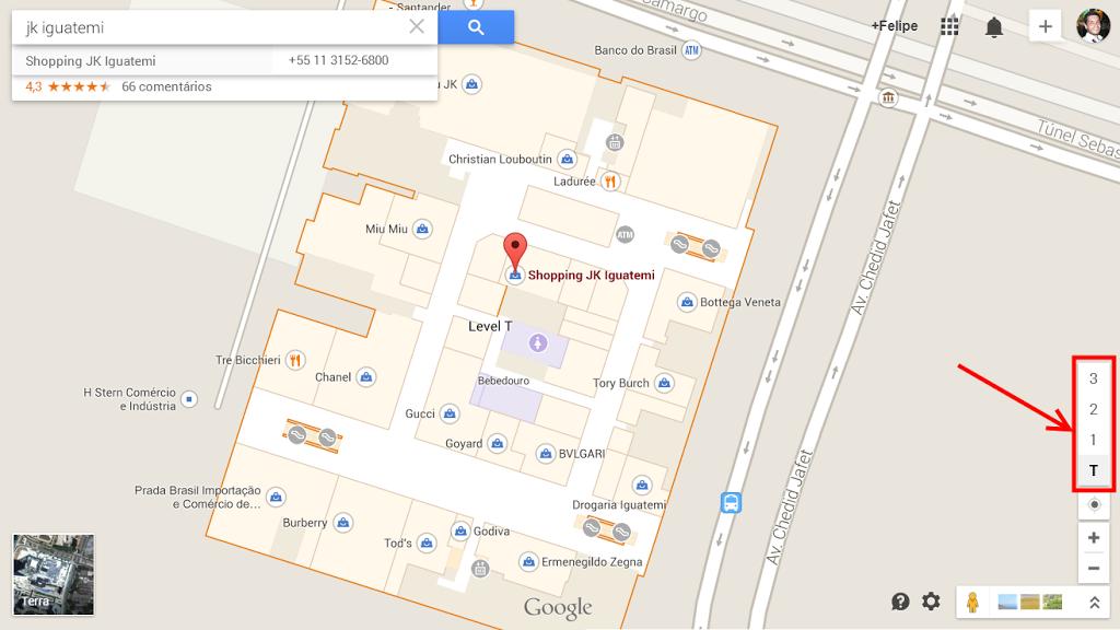Shopping JK Iguatemi no Indoor Maps