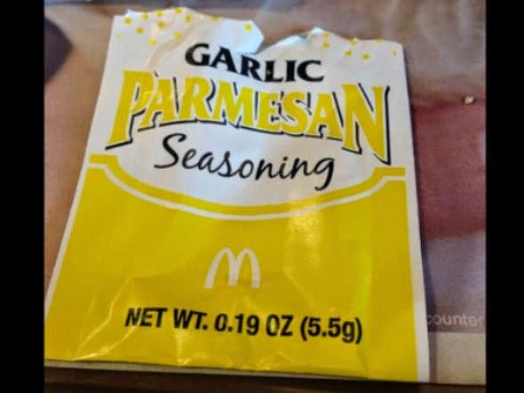 Batatas fritas temperadas do McDonald's