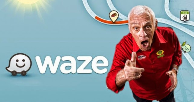Silvio Luiz no aplicativo Waze