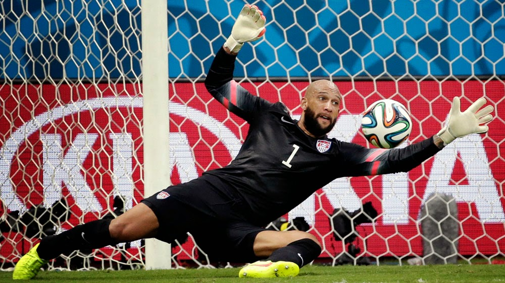 Goleiro Tim Howard