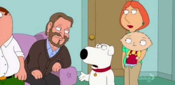 Family Guy com Robin Williams
