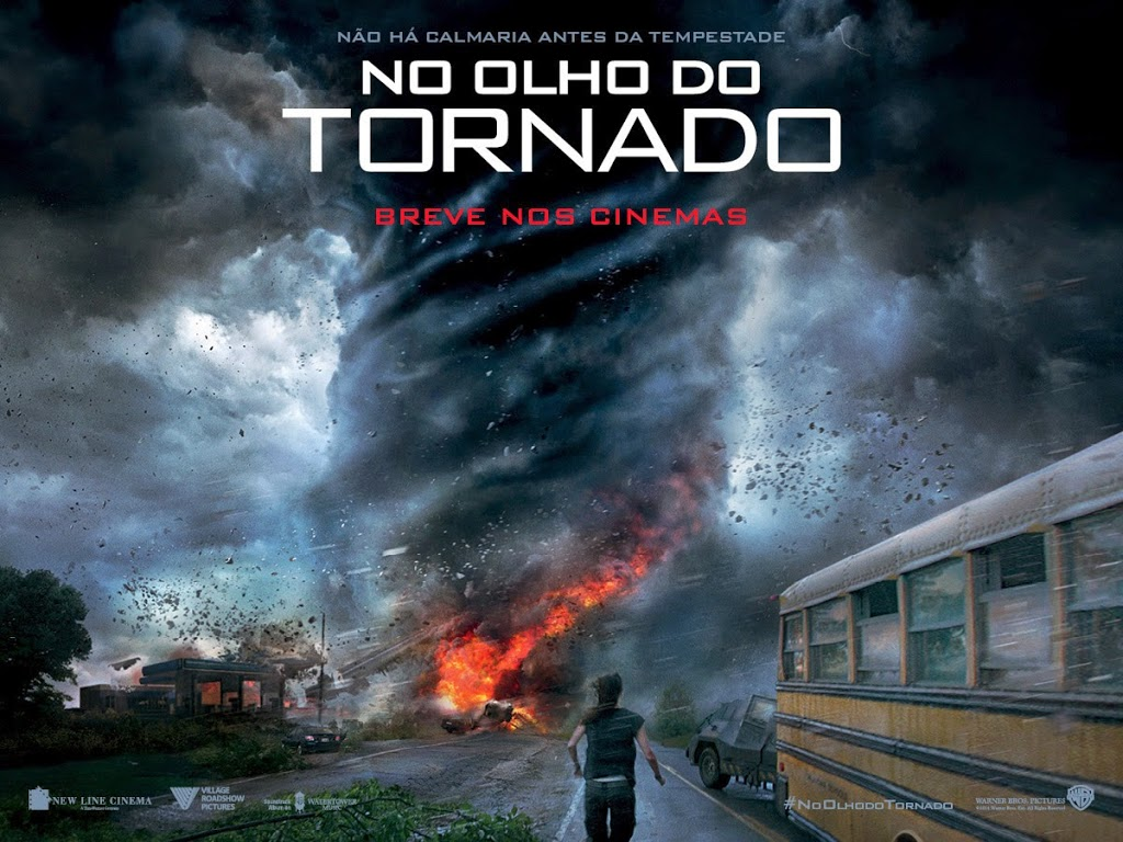 Cartaz do filme 'No Olho do Tornado'