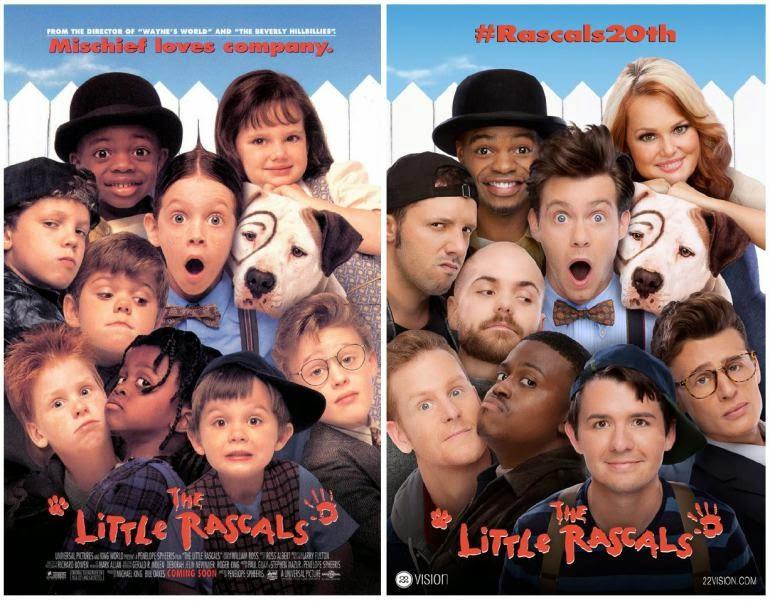 """Cartaz do filme """"Os Batutinhas"""" 20 anos depois"""