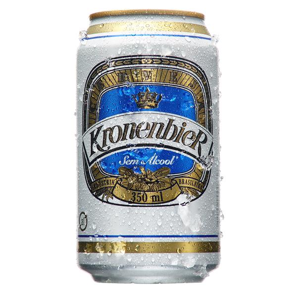 Lata de cerveja Kronenbier