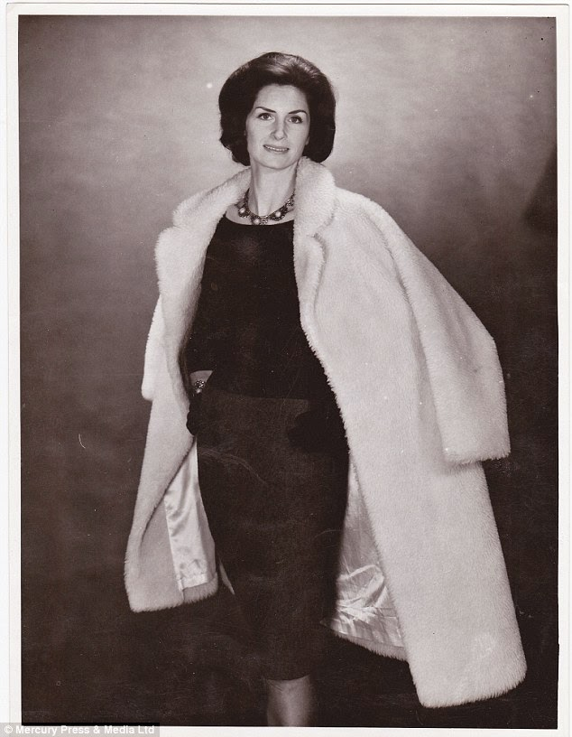 Daphne Selfe na década de 50