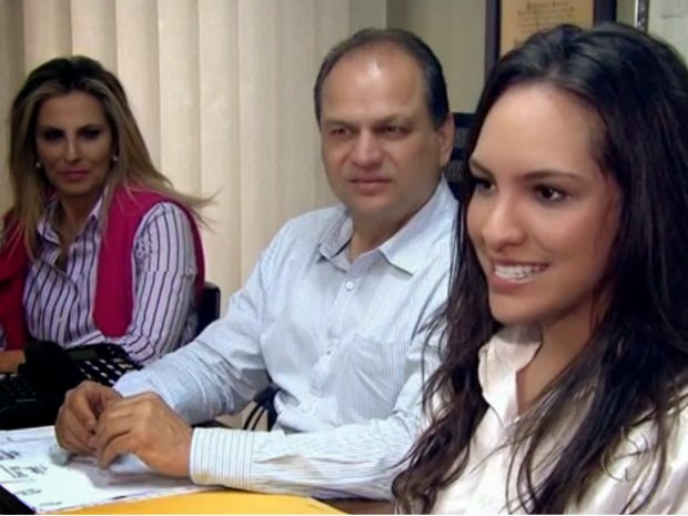 Cida Borghetti, Ricardo Barros e Maria Victória