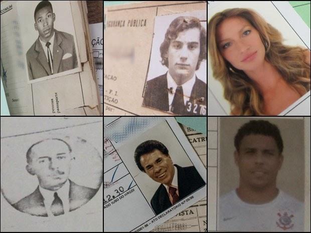Identidades de famosos