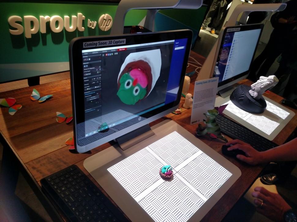 HP lança computador com projetor embutido e scanner 3D 02