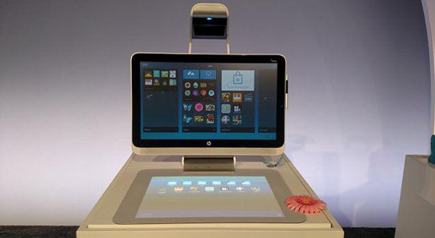HP lança computador com projetor embutido e scanner 3D 04