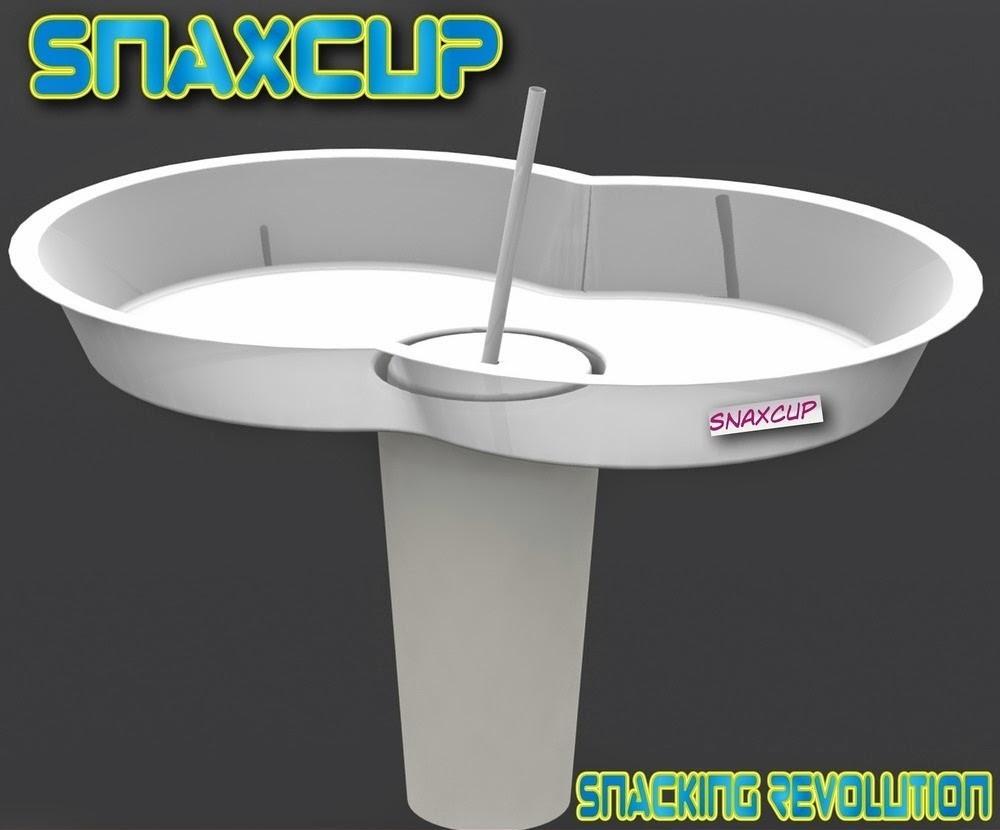 Jogador de futebol cria copo especial para lanches em estádios e cinemas
