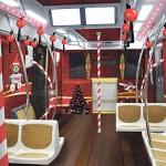 Trem do metrô de São Paulo irá ganhar decoração totalmente natalina