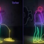 Moradores de Hamburgo se vingam de 'mijões' com tinta que repele urina