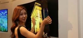 LG cria tela OLED tão fina quanto um papel de parede