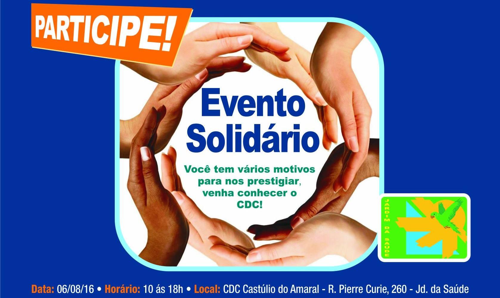 1º Evento Solidário do Jardim da Saúde, em São Paulo