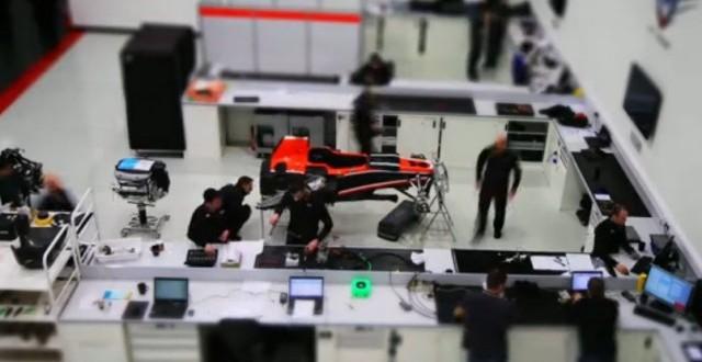 Vídeo: A construção de um carro de F1