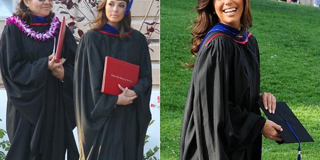 Atriz Eva Longoria concluiu o mestrado em universidade da Califórnia