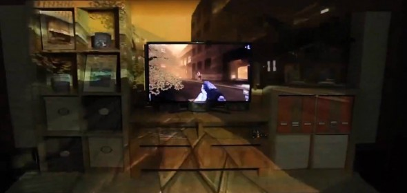 Projetor do Xbox 720 escaneia o ambiente e projeta imagens além da tela