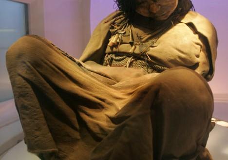 Múmias de crianças sacrificadas pelos Incas