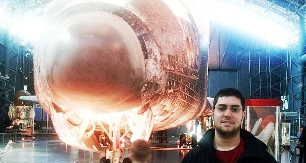 Brasileiro de 21 anos será o segundo brasileiro a conhecer o espaço